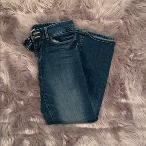 gap essential bootcut jeans size 8/29